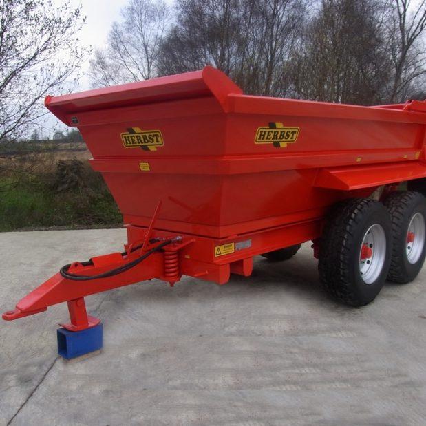 Herbst 12 ton dump trailer