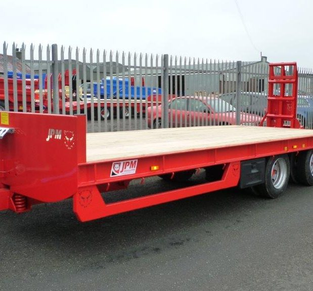 JPM tandem axle low loader